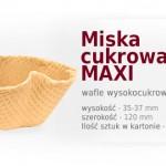 miska cukrowa maxi